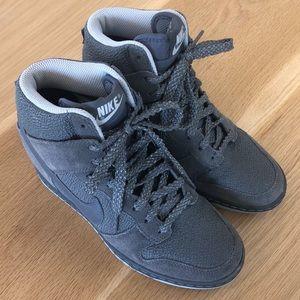 Nike Platform Gray Sneakers
